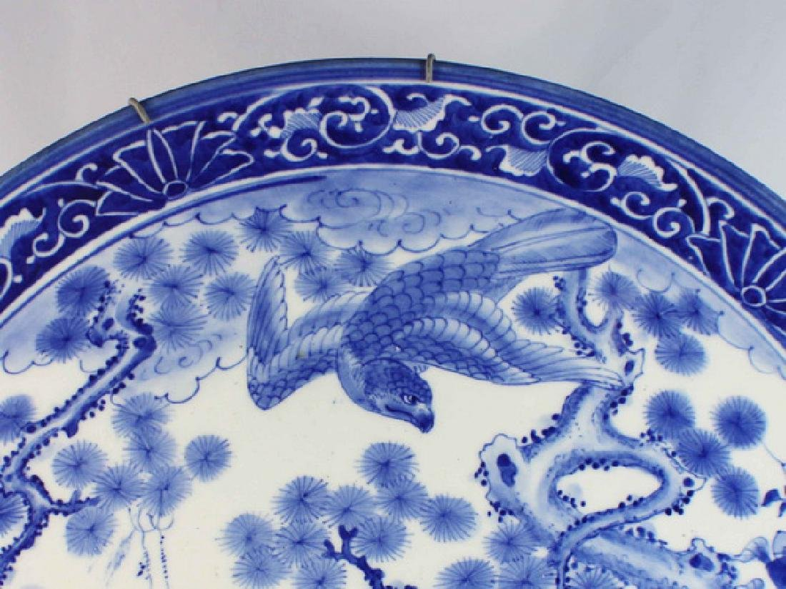 Large Antique Chinese Export Porcelain Plate - 3