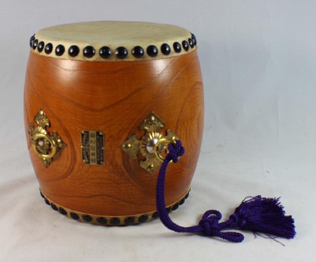 Japanese Hand Made Drum