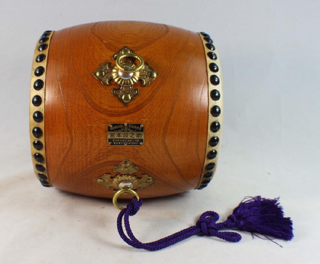 Japanese Hand Made Drum - 3