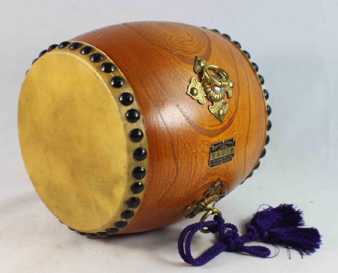 Japanese Hand Made Drum - 5