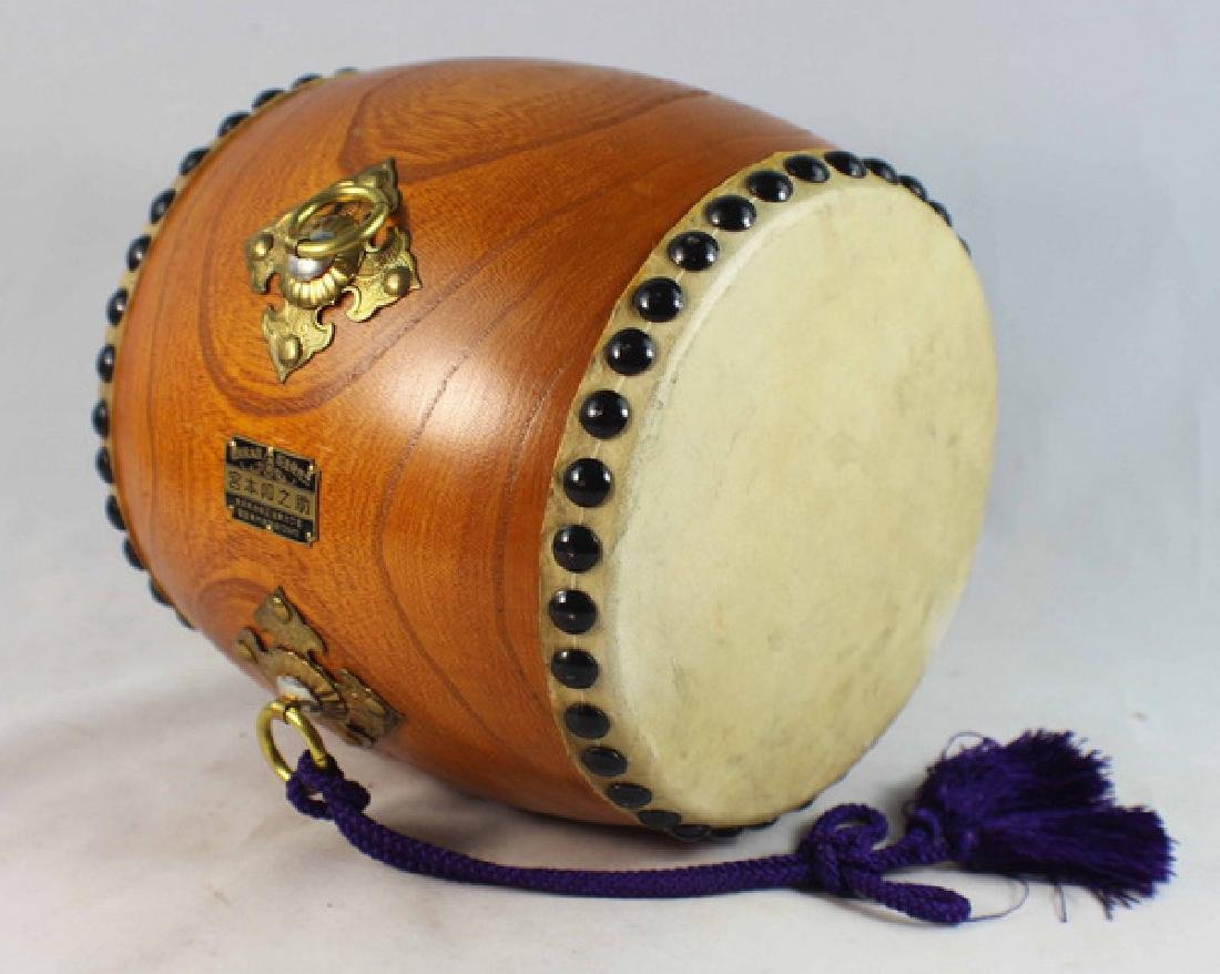 Japanese Hand Made Drum - 6