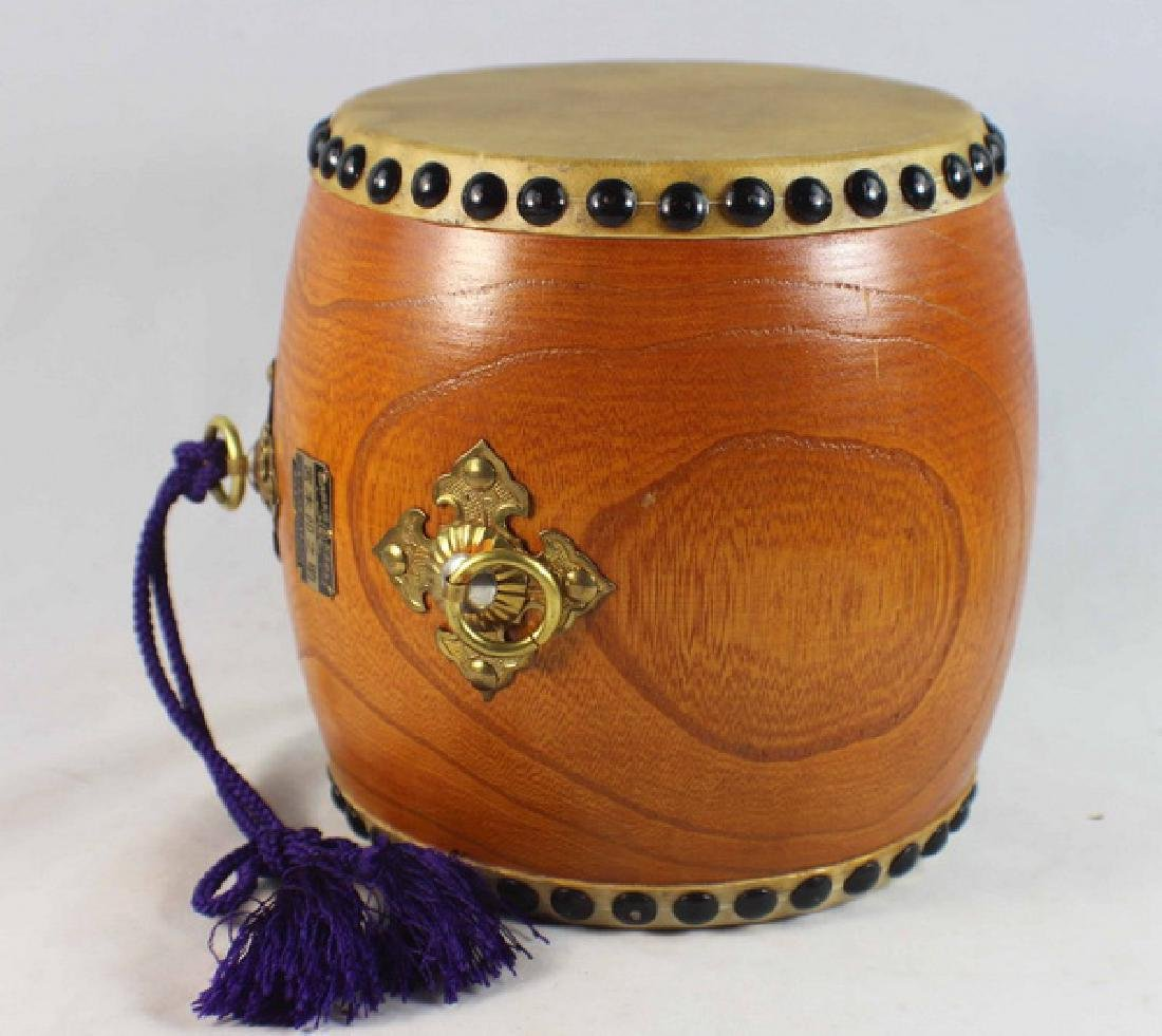 Japanese Hand Made Drum - 7