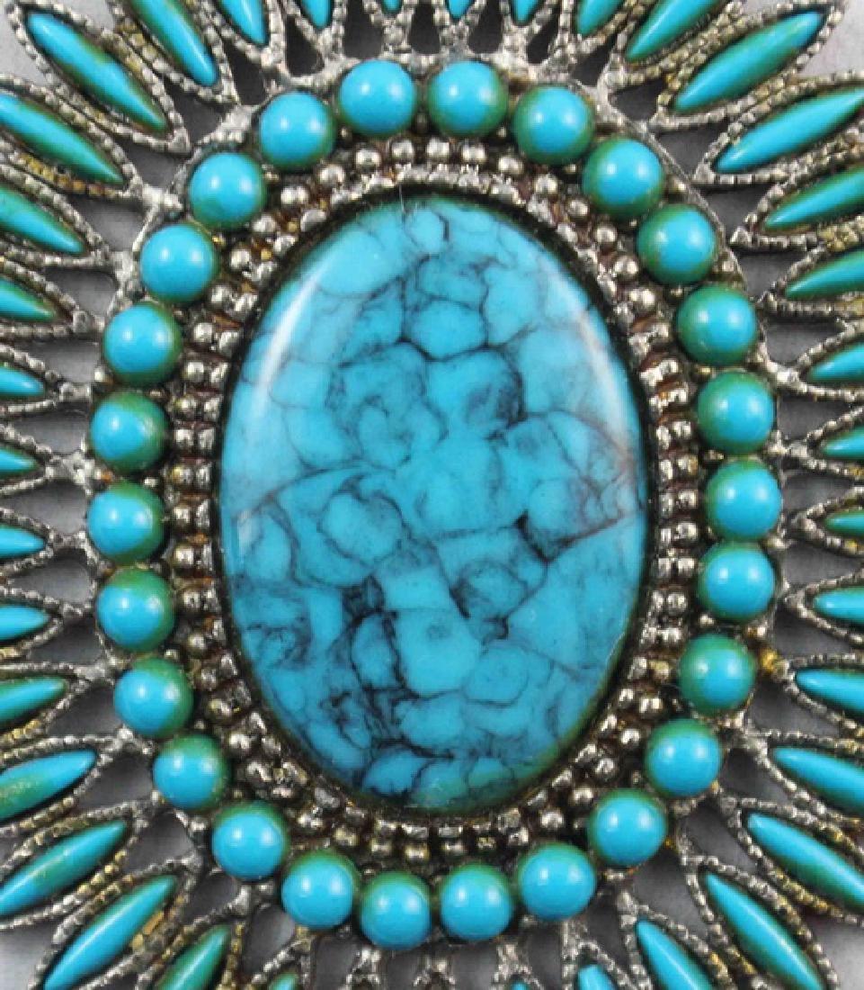 Turquoise Pendant - 2