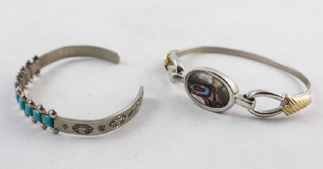 Pair Of Silver Bracelets - 2