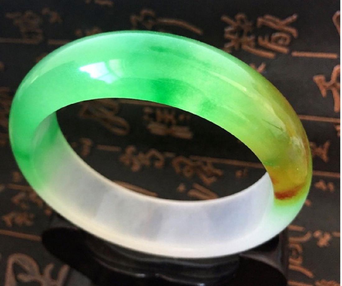 Chinese Carved Jade Bangle