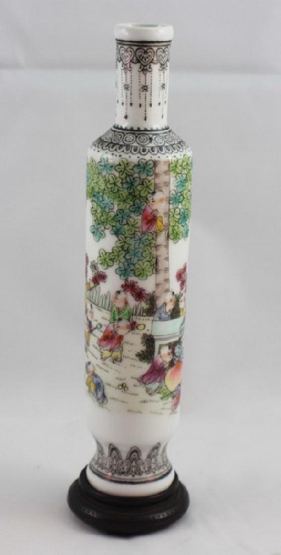 Chinese Porcelain Vase Marked - 3