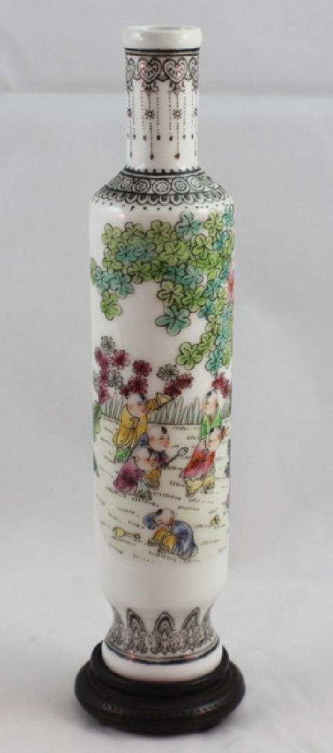 Chinese Porcelain Vase Marked - 4