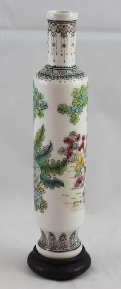 Chinese Porcelain Vase Marked - 6