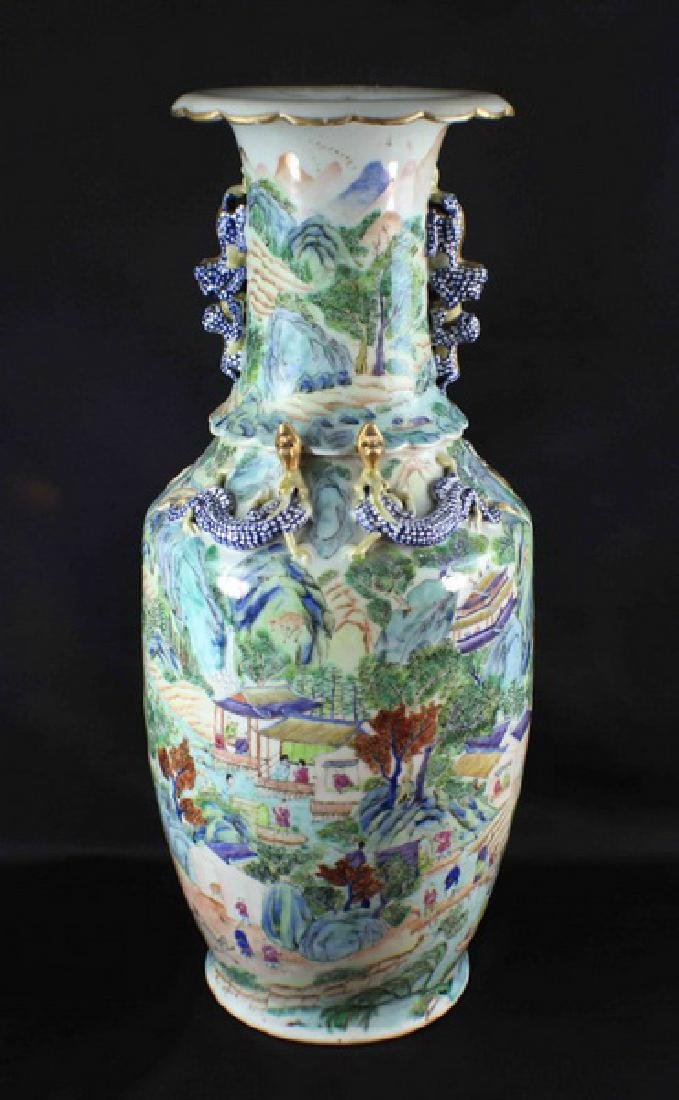 Antique Large Chinese Porcelain Vase