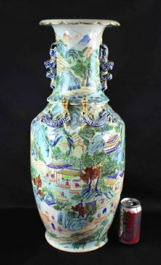 Antique Large Chinese Porcelain Vase - 2