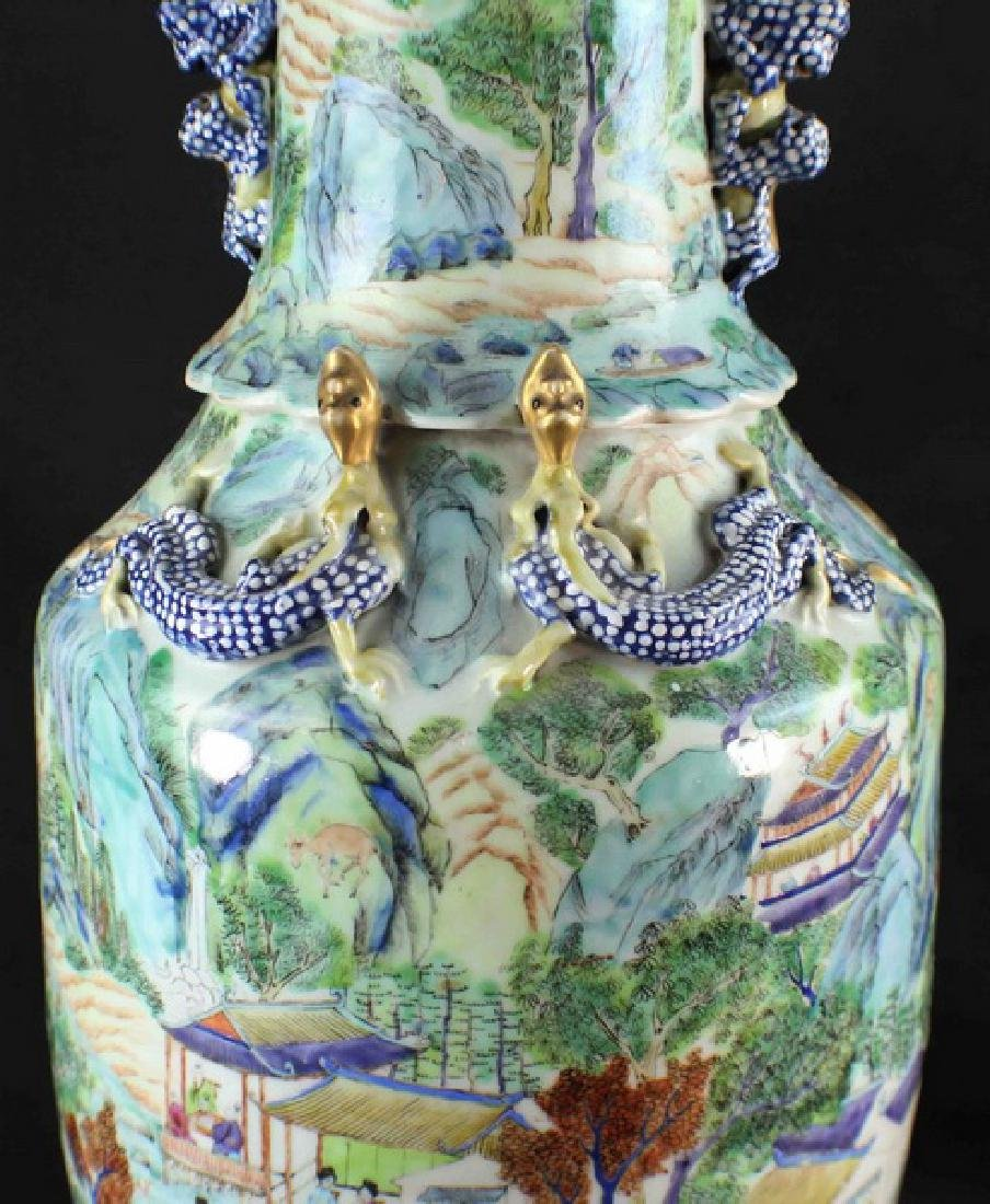 Antique Large Chinese Porcelain Vase - 4