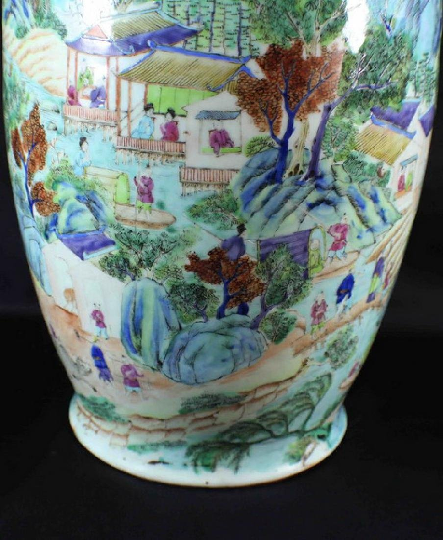 Antique Large Chinese Porcelain Vase - 6
