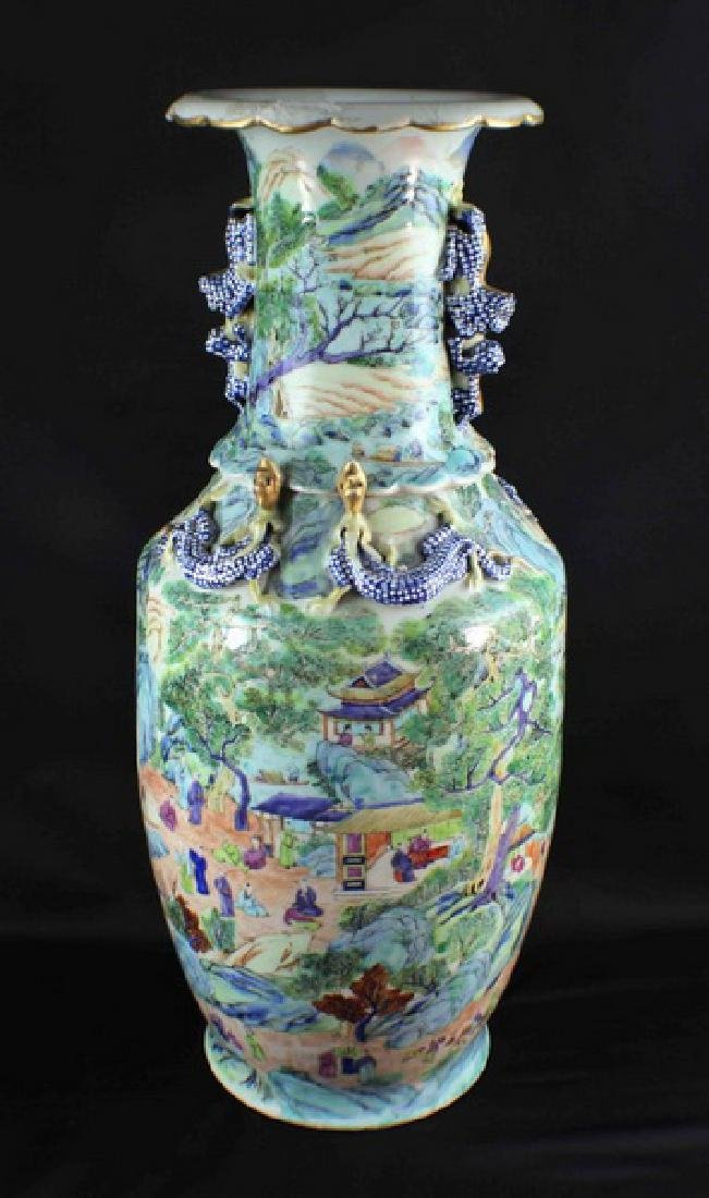 Antique Large Chinese Porcelain Vase - 8