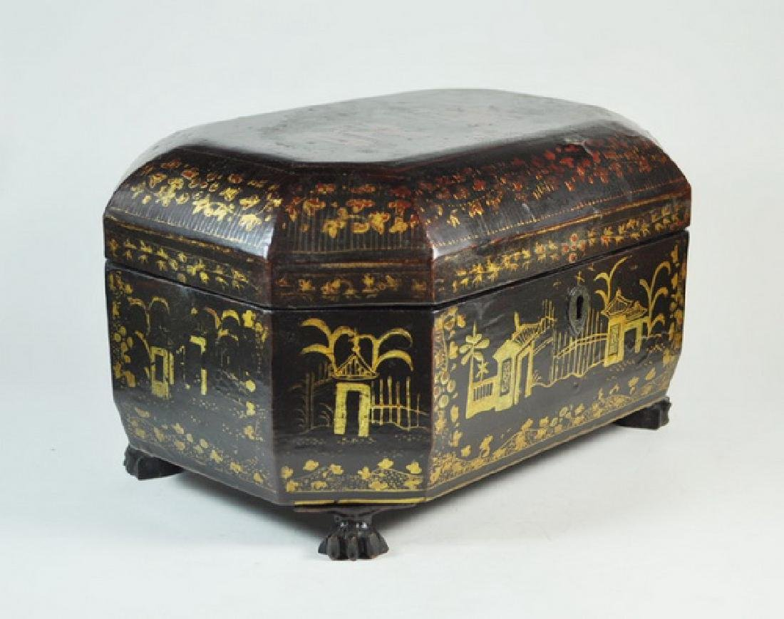 Antique Chinese Hand Painted Box - 3