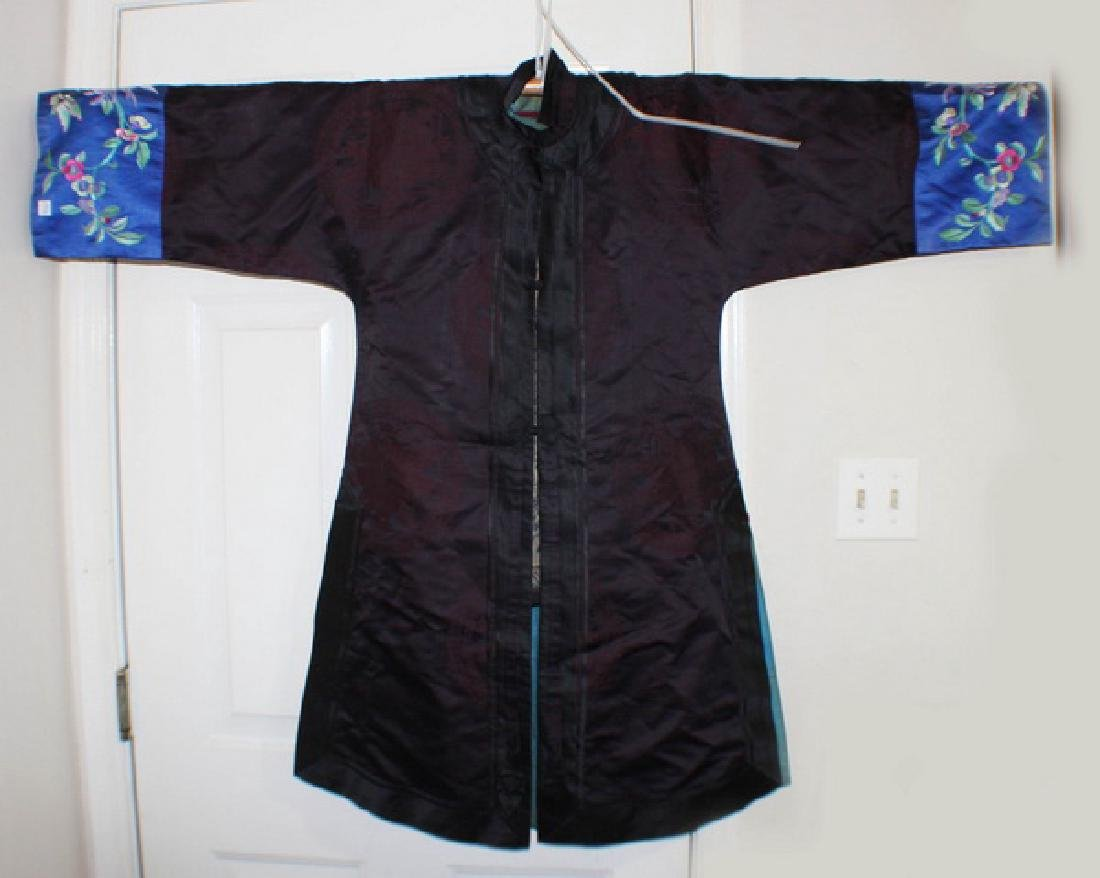 Antique Chinese Silk Embroidery Robe
