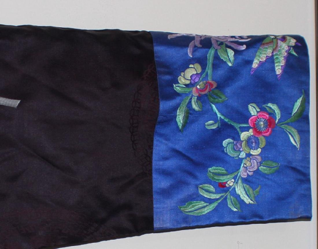 Antique Chinese Silk Embroidery Robe - 3