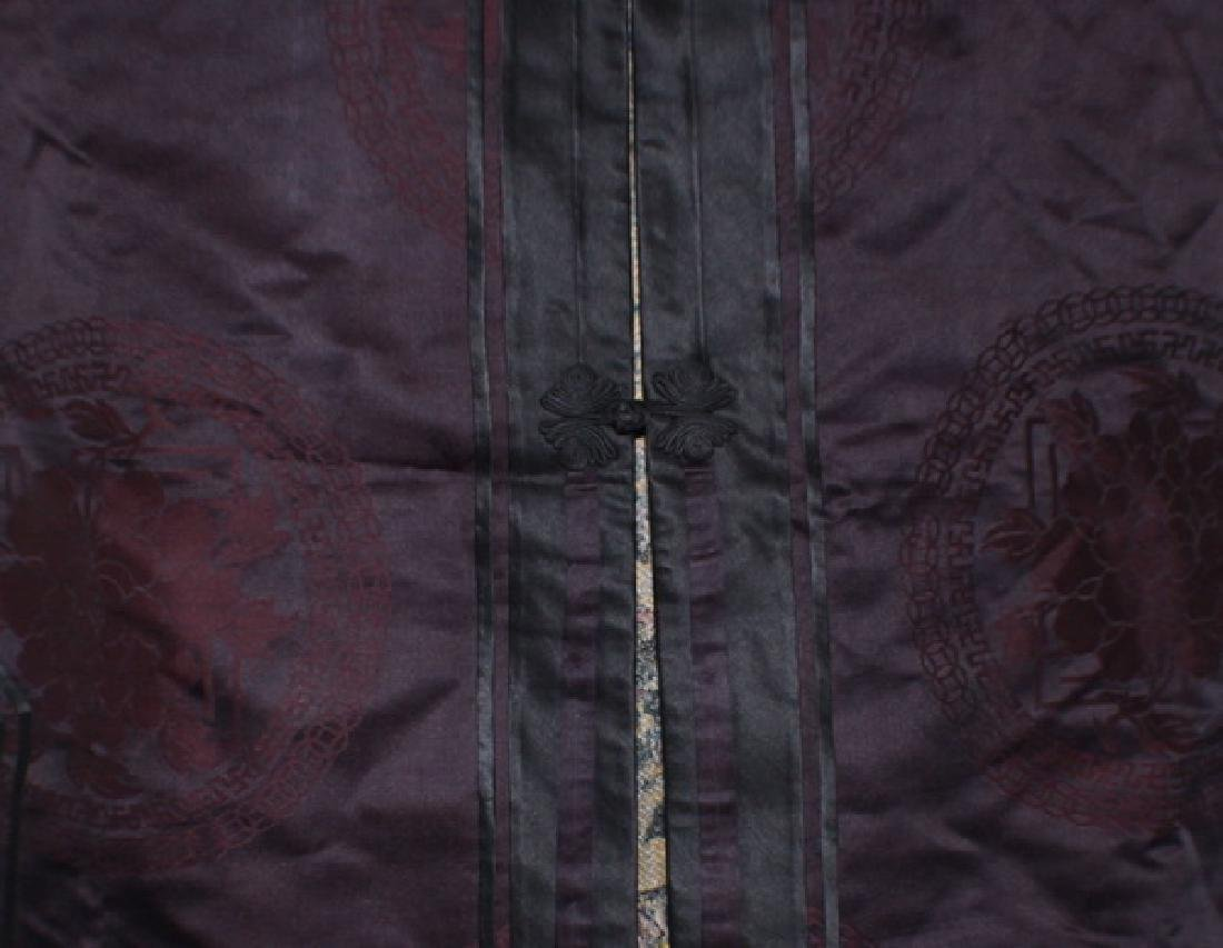 Antique Chinese Silk Embroidery Robe - 5