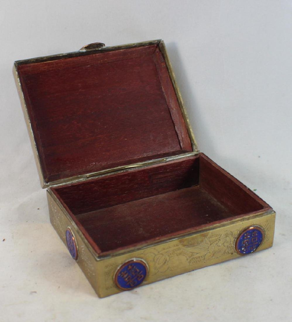 Lot Of 4 Chinese Copper Boxes - 3