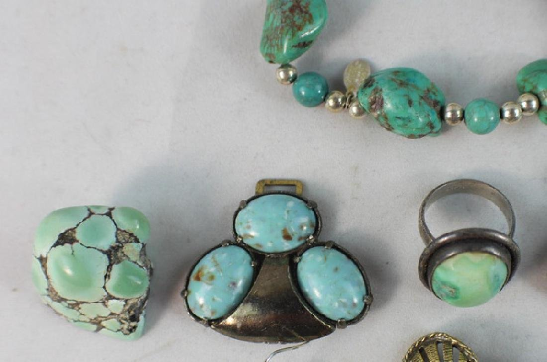 Group Of Turquoise Jewelry - 3