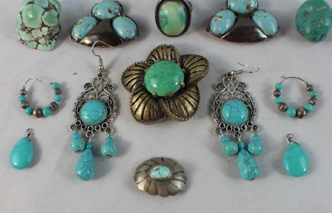 Group Of Turquoise Jewelry - 6