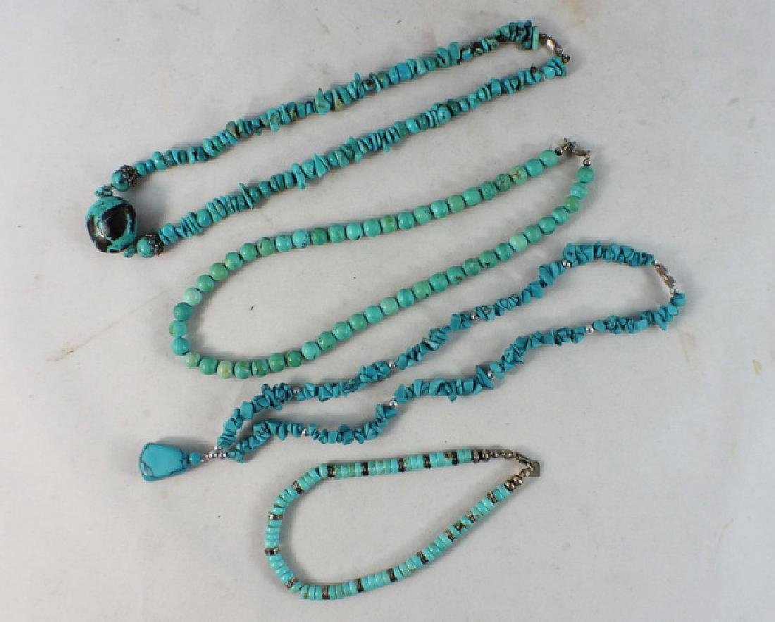 Group Of Turquoise Jewelry
