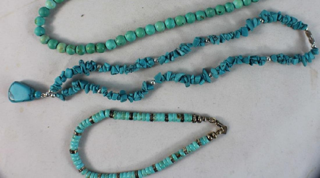 Group Of Turquoise Jewelry - 4