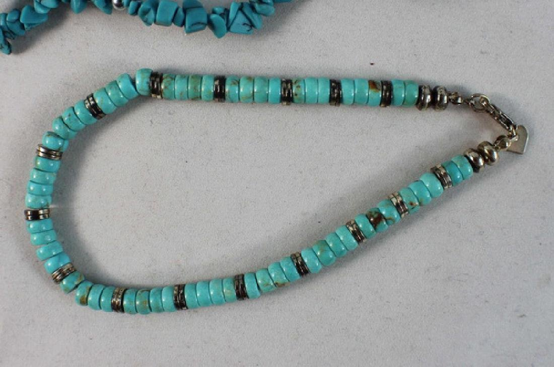 Group Of Turquoise Jewelry - 5