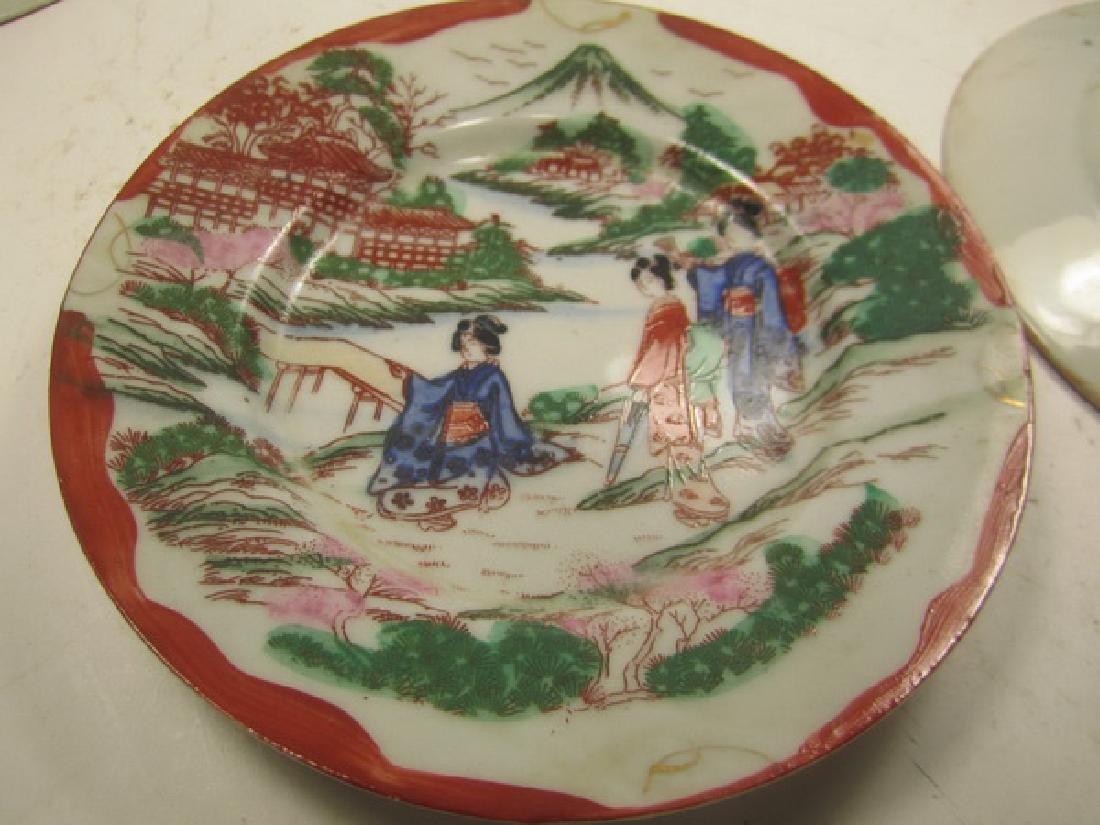 Six Antique  Japanese Imari Dishes - 5