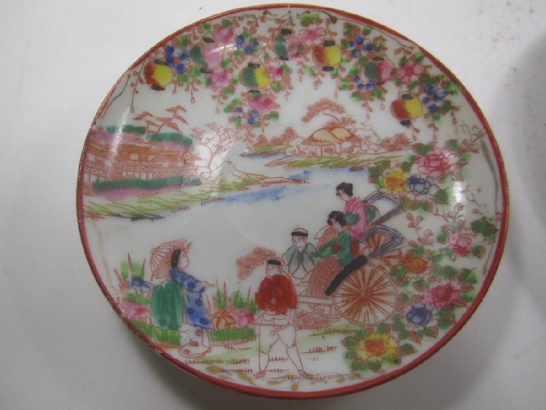 Six Antique  Japanese Imari Dishes - 6
