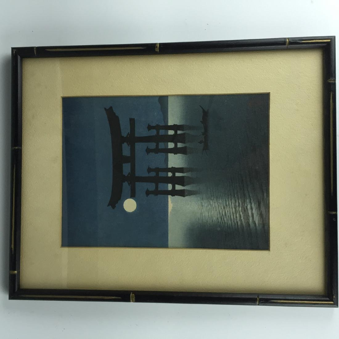 Japanese Painting with Frame - 3