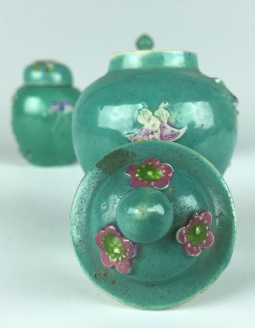 Chinese Porcelain Jar and Pot set - 10