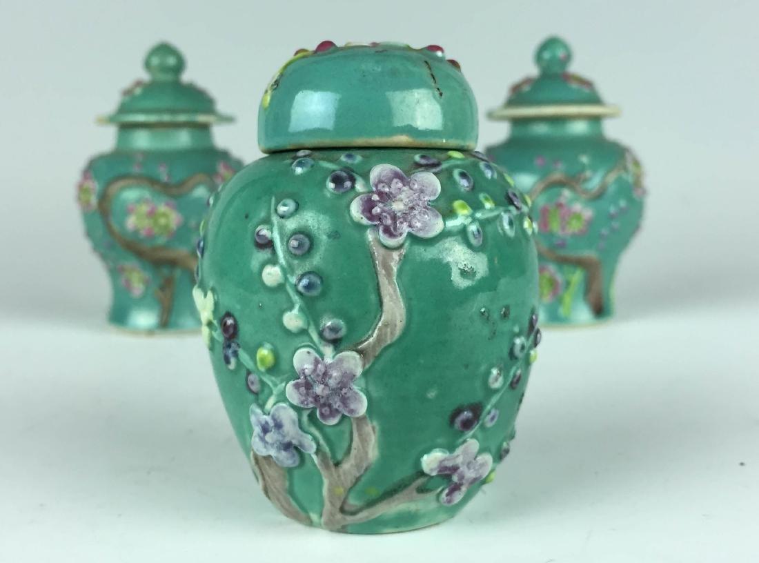 Chinese Porcelain Jar and Pot set - 2