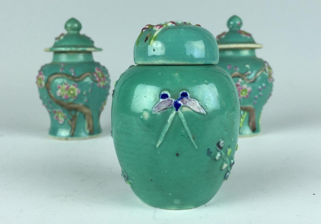 Chinese Porcelain Jar and Pot set - 3