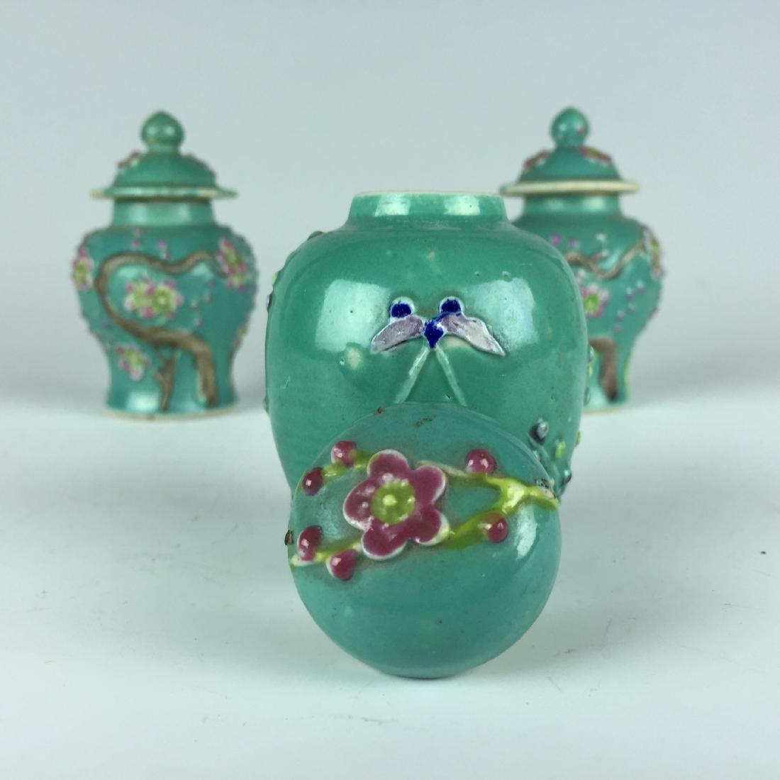 Chinese Porcelain Jar and Pot set - 4