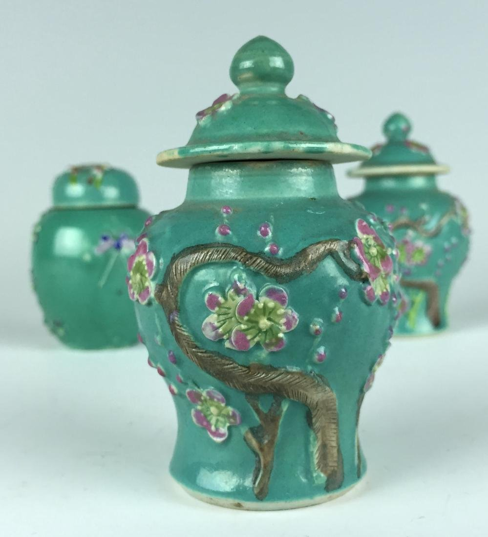 Chinese Porcelain Jar and Pot set - 5