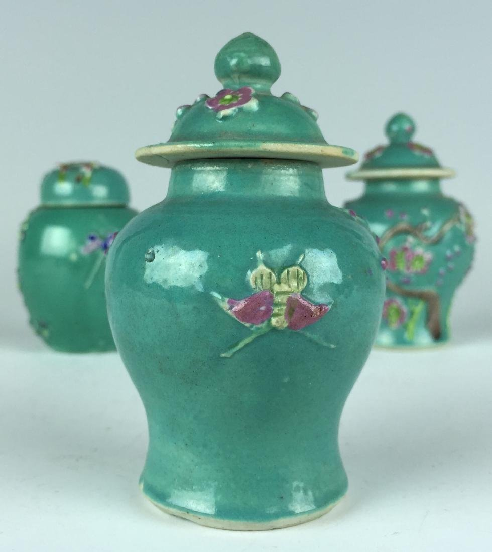 Chinese Porcelain Jar and Pot set - 6