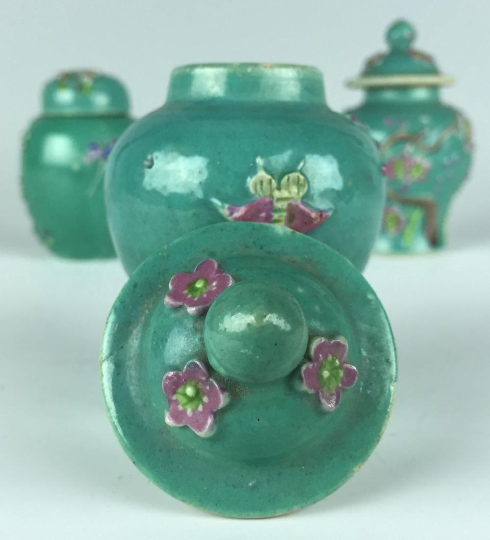 Chinese Porcelain Jar and Pot set - 7