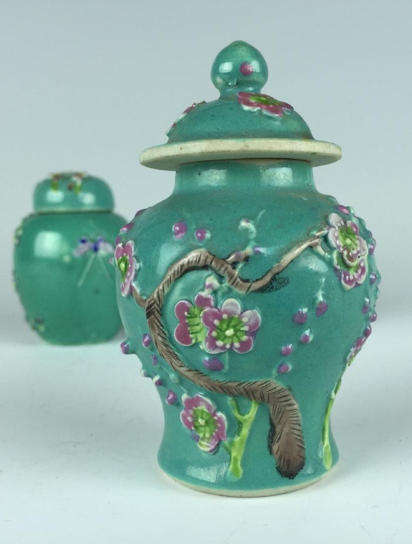 Chinese Porcelain Jar and Pot set - 8