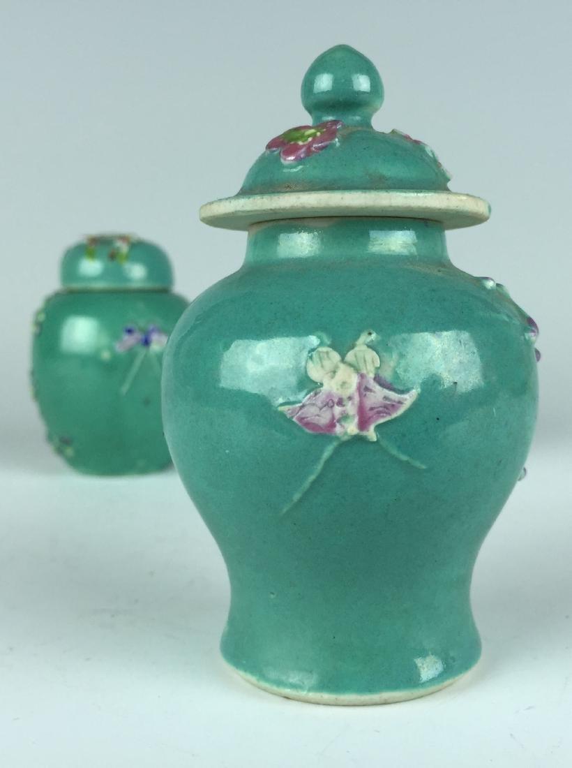 Chinese Porcelain Jar and Pot set - 9
