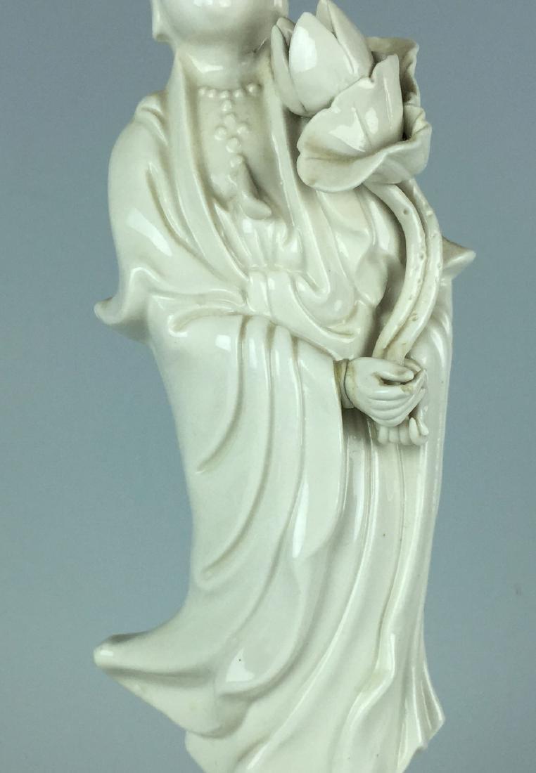 Chinese Porcelain Figurine - Guanying Buddha - 3