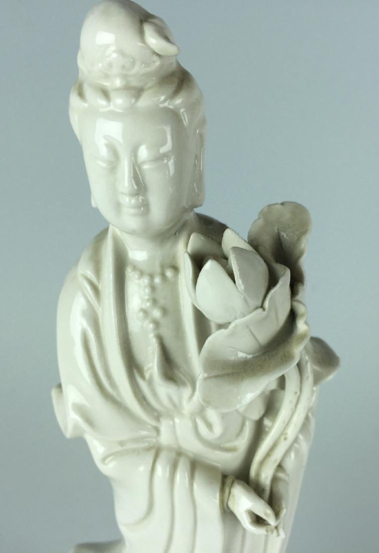 Chinese Porcelain Figurine - Guanying Buddha - 5