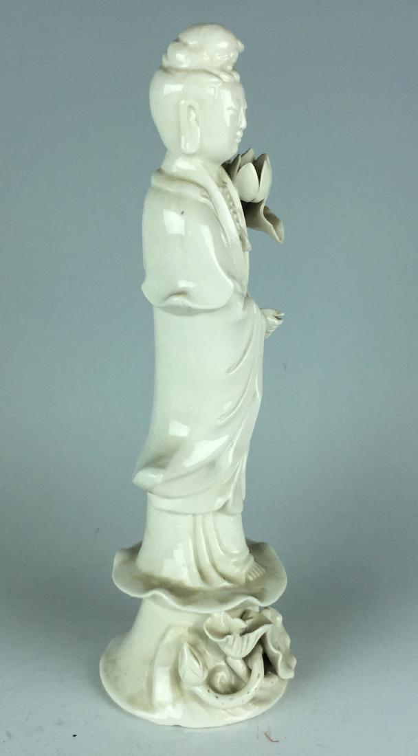 Chinese Porcelain Figurine - Guanying Buddha - 6