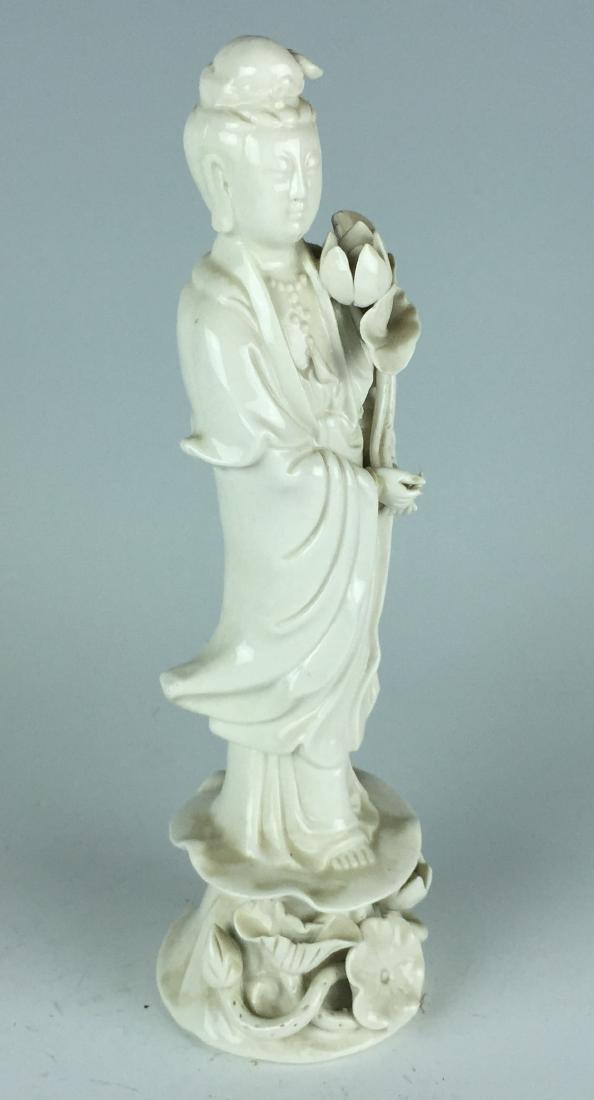 Chinese Porcelain Figurine - Guanying Buddha - 9