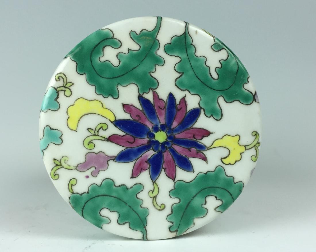 Chinese Enamel Porcelain Pot - 4