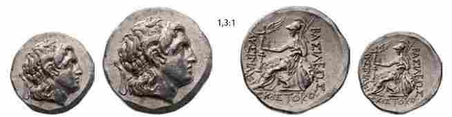 856: Sostokos, abt. 260-240 B.C. Tetradrachm (16,42g)