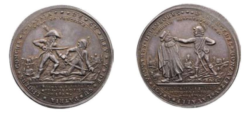 1109: Medal Victory over the english at Arrabel 1806 /