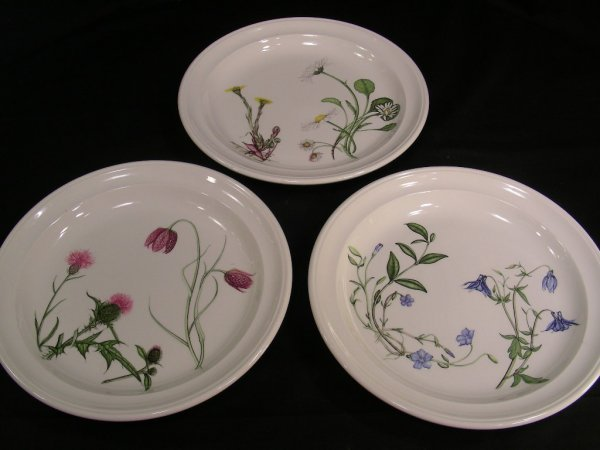 634: PORTMEIRION THE QUEENS HIDDEN GARDEN DISHES 37 PCS - 6