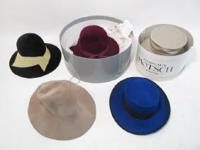 FIVE LADIES FASHION HATS