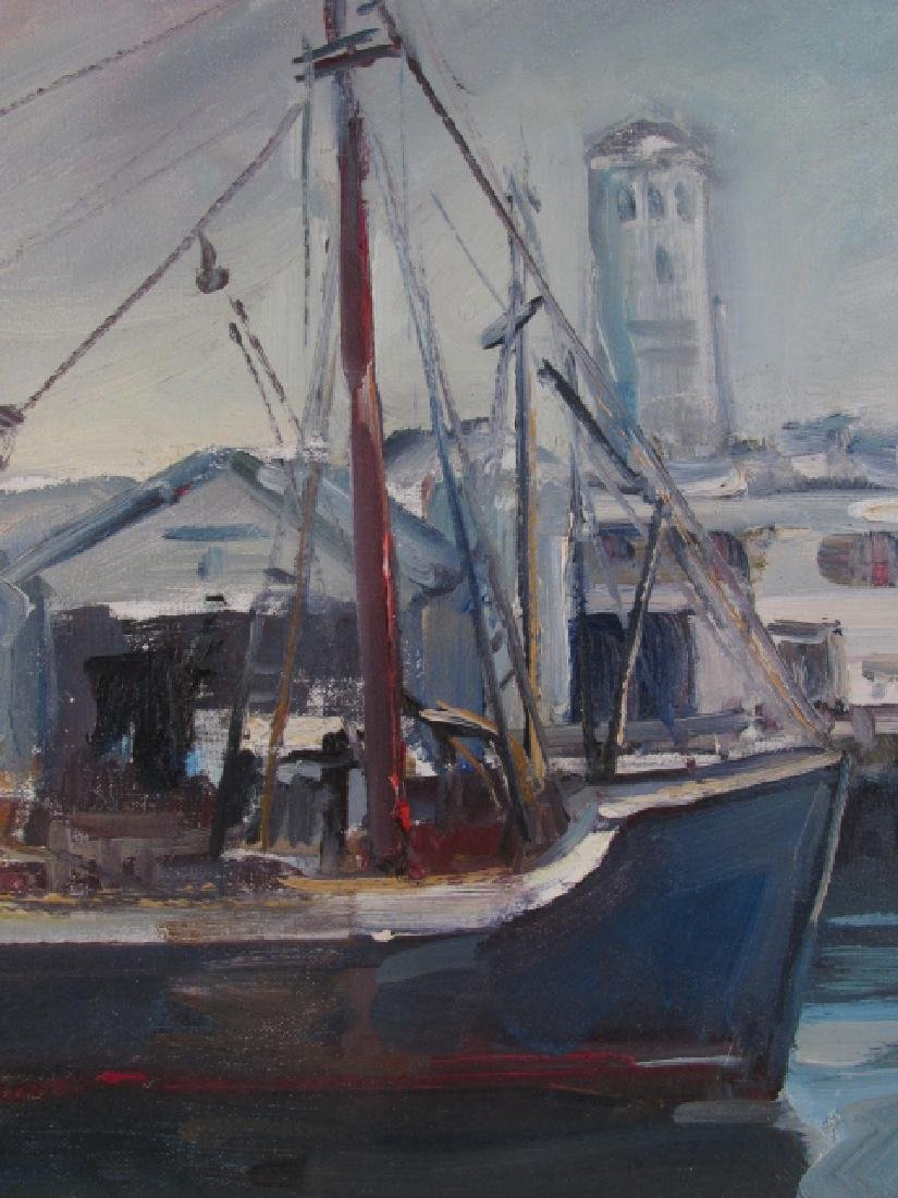 EMILE ALBERT GRUPPE OIL ON CANVAS BOARD PAINTING - 4
