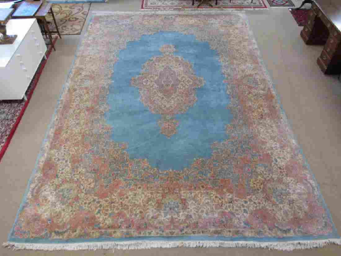 PALACE SIZED PERSIAN KERMAN HAND KNOTTED RUG -